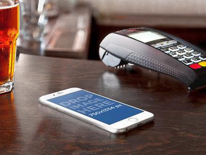 iPhone 6 At Counter Bar