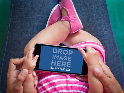 Baby Using iPhone 6