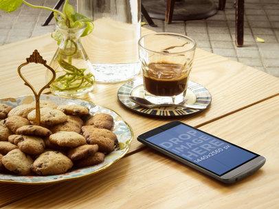 LG G3 at Cute Coffee Shop