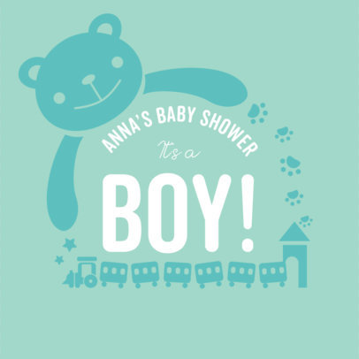 Baby Shower T-Shirt Template 1021