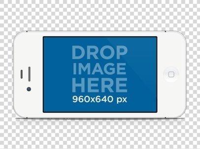 White iPhone 4 Landscape